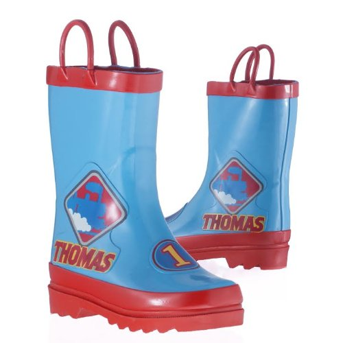 Thomas The Tank Engine and Friends Boy's Rain Boots - Size 7-8 Toddler
