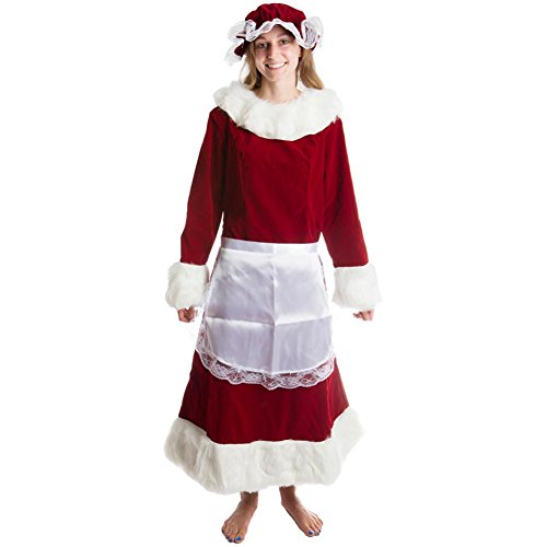 Mrs. Claus Adult Costume - Medium -