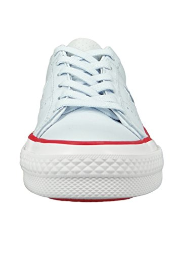 Ox Trainers Mens White Tint Blue Star One Converse Red Leather Gym xwtn6vq1