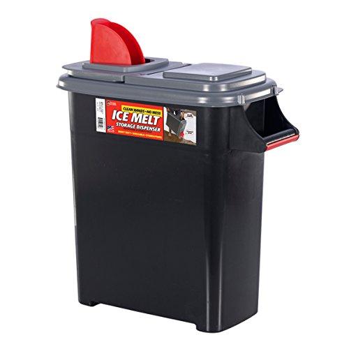 Buddeez 098 Ice Melt Dispenser, 09801GRAY-ONL, Black