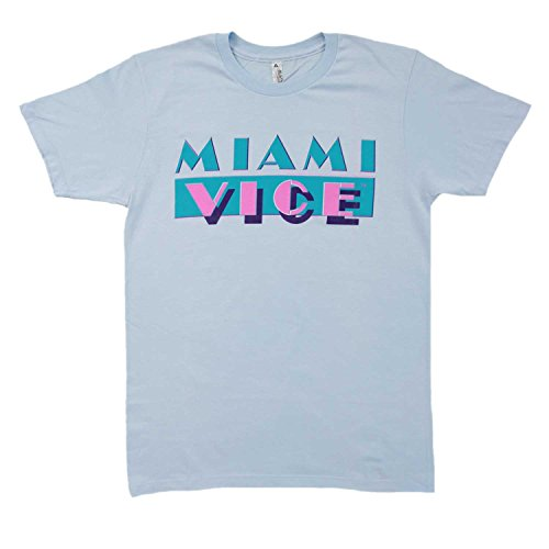 Miami Vice T-shirt Light Blue - S to XXL