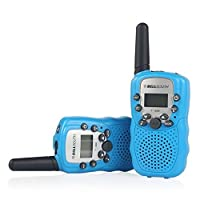 Amalen T388 2 Piece T-388 3-5KM 22 FRS and GMRS UHF Radio for Child Walkie-Talkie