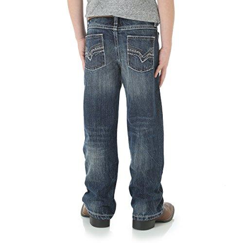Wrangler Big Boys' 20x Vintage Boot Cut Jean, Canyon Lake, 12 Slim