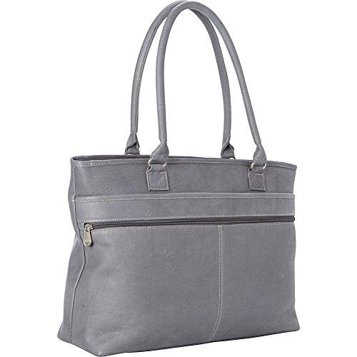 le-donne-leather-fauna-executive-tote-gray
