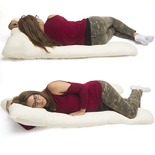 (U Shape Pillow Pregnancy Maternity Comfort Support Cushion Sleep Total Body)