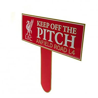 Liverpool Keep Off The Pitch Sign (31x30cm)