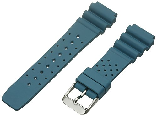 Momentum ZC-20TWS TEAL 19mm M1 Twist Rubber Green Watch Strap (Momentum M1 Twist)