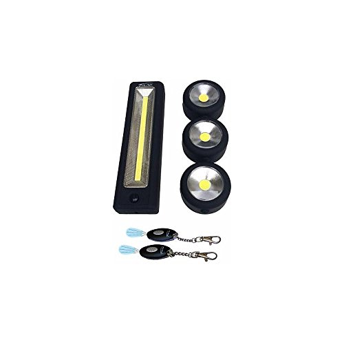 TROPHY ANGLER 6-Piece Cob LED Shelter Light Package ASG-SLP-6C