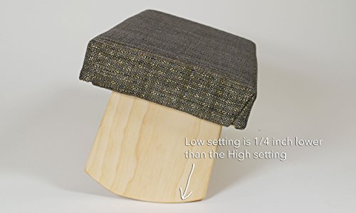 Joy Is Within You Fixed Legs Meditation Bench Soft Top (Made in USA)