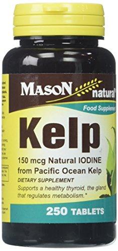 Mason Vitamins Kelp 150 mcg Tablets, 250 Count