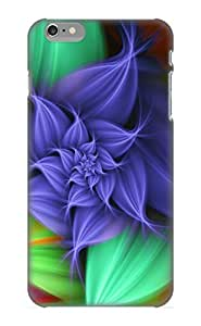 Christmas Gift - Tpu Case Cover For Iphone 6 Plus Strong Protect Case - Abstract Fractal Design