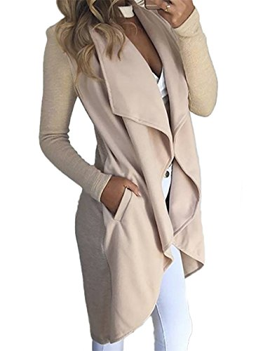 Vintagerose Womens Long Sleeve Knit Coat Tops Outwear With Pockets Cardigan Coats