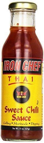 (IRON CHEF Thai Sweet Chili Sauce - 15 oz (Pack of 2))