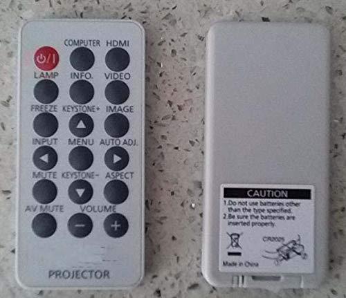 Calvas remote control for Panasonic projector PT-UW275/PT-UX273/T-UX325/PT-UX352 controller