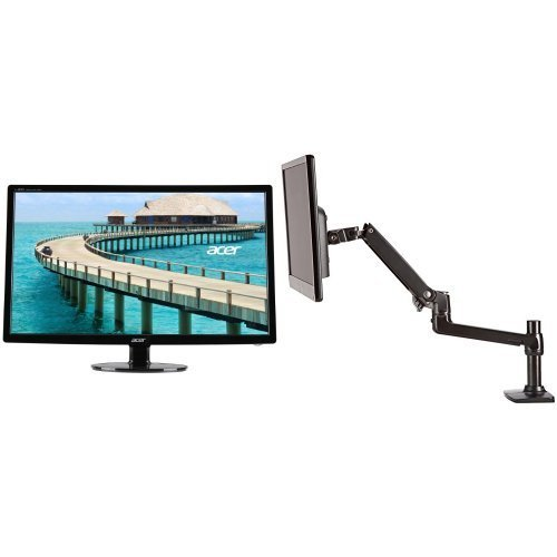 Acer S241HL bmid 24-Inch Screen LED-Lit Computer Monitor ...