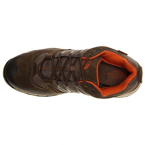 a58908158 The North Face Storm WP Shoe Men's Shroom Brown/Burnt Orange ...
