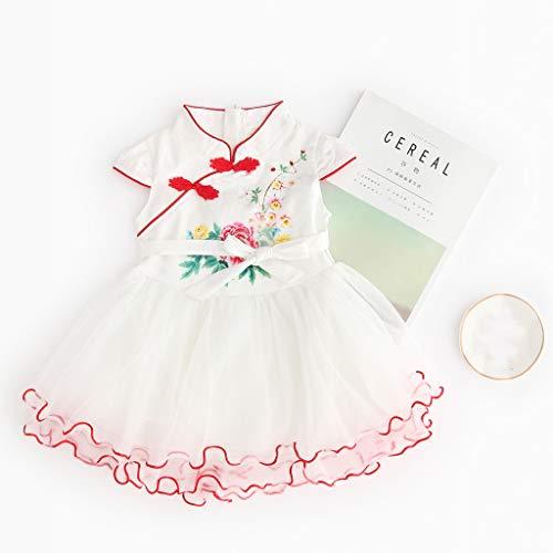 13eb328373 Sequin Dress Girls Pink,Toddler Kid Baby Girl Short Sleeve Striped Printed  Lace Princess Dress Clothing,Girls' Dresses,Pink,4-9T