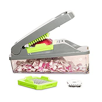 Onion Chopper Pro Vegetable Chopper By Mueller - Strongest - No More Tears Heavier Duty Multi Vegetable-fruit-cheese-onion Chopper-dicer-kitchen Cutter 5