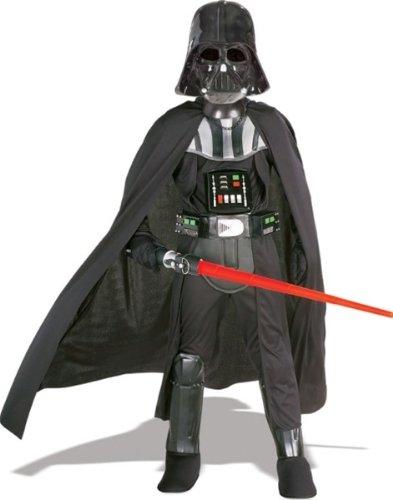 [Star Wars - Child Deluxe Darth Vader Costume Set - LARGE] (Darth Vader Deluxe Kids Costumes)