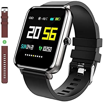 Amazon.com: Smart Watch Men Heart Rate Smart Watch for Apple ...