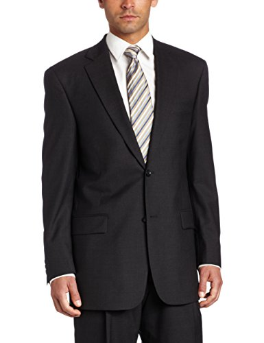 Austin Reed Men's Suit Separate Classic Coat, Charcoal Grey, 48 ()