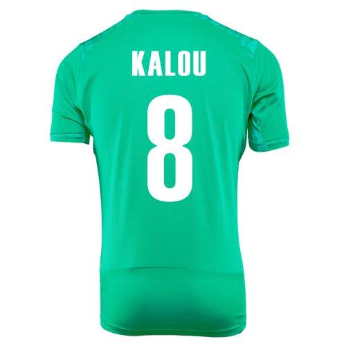 堤防ビットティーンエイジャーPUMA KALOU #8 IVORY COAST AWAY JERSEY WORLD CUP 2014/サッカーユニフォーム コートジボワール アウェイ用 ワールドサッカー2014 背番号8 カルー