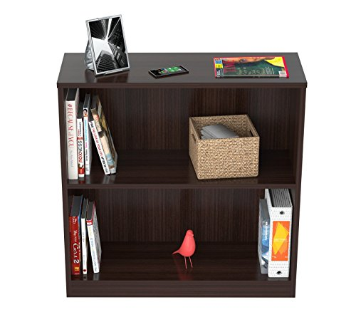 Inval America BE-3104 2 Shelf Bookcase/Hutch by Inval America