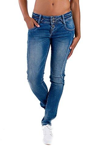 Donna Skinny Blau Basic Monkey Jeans Blue wq0vI7