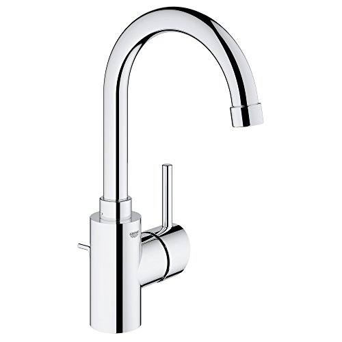 Concetto L-Size Single-Handle Single-Hole Bathroom Faucet - 1.2 GPM