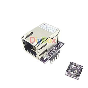 Amazon.com: Mini LAN Ethernet ENC28J60 La placa de módulo de ...