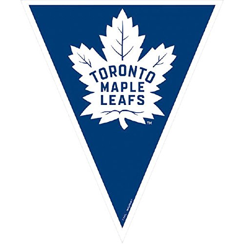 1 Ct. Amscan Toronto Maple Leaf Victory Pennant Banner 12