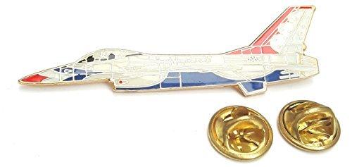 F-16 Thunderbirds Avion Latéral Vue Badge Épinglette En Émail