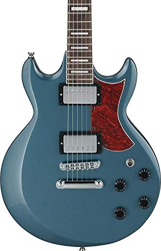 Ibanez AX 6 String Solid-Body Electric Guitar Right, Baltic Blue Metallic Full AX120BEM