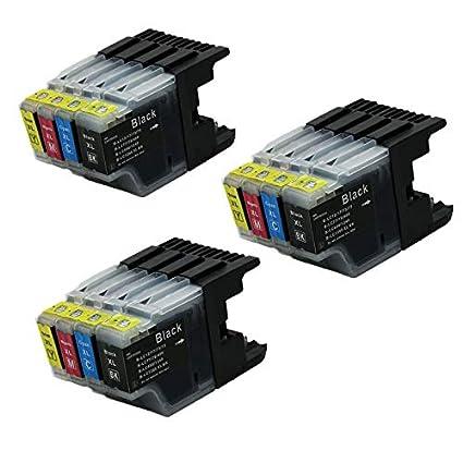 Bramacartuchos - 12 X Cartuchos compatibles Brother Lc1280XL ...