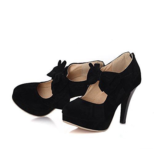 Suede Platform Pump Shoes - 2
