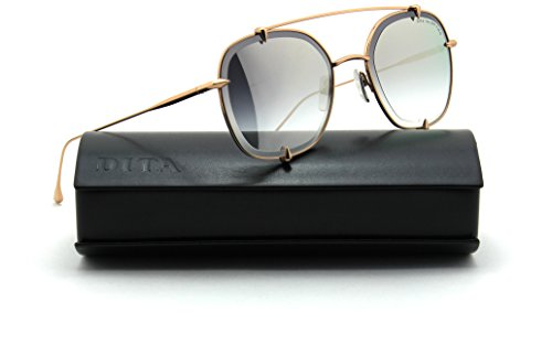Dita TALON - TWO Unisex Aviator Sunglasses Rose Gold - Dita Aviator Sunglasses