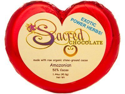 Sacred Chocolate: Organic Amazonian Chocolate 1.44 Oz (11 Pack) by Sacred Chocolate