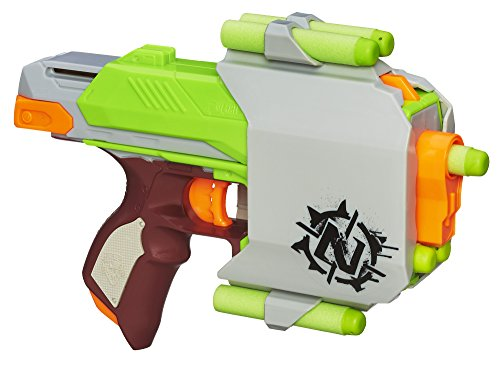 Nerf Zombie Strike Quick Draw Sidestrike Blaster And Holster Board Game