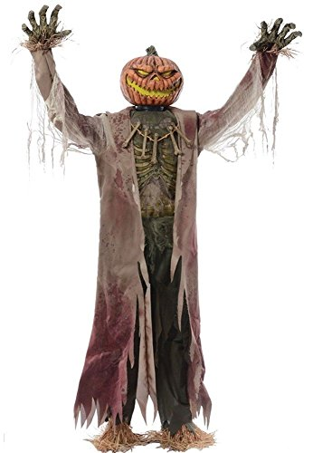 Corn Stalker Life-sized Animated Prop Creepy Halloween Decor Wicked -