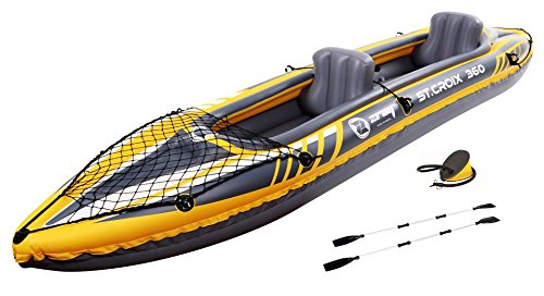 Z-Ray St. Croix 2-Person Inflatable Kayak Set Jilong USA - Sports 37326