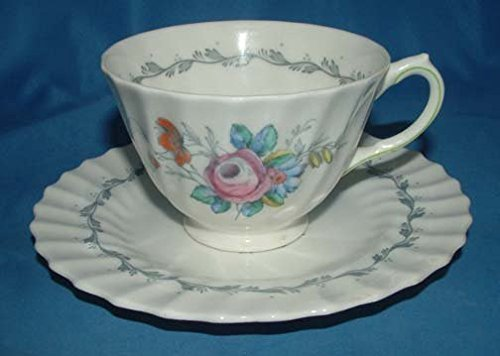 Royal Doulton England The Chelsea Rose Tea Cup & (Chelsea Saucer)