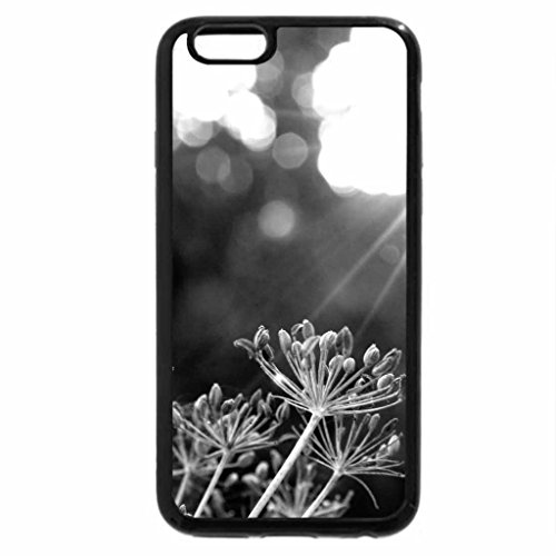 iPhone 6S Case, iPhone 6 Case (Black & White) - Sun and Nature!