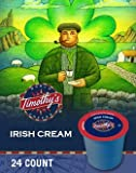 Timothy's IRISH CREAM - Box of 24 k-cups