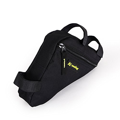 Juemenzhe Sport Bicycle Bike Storage Bag Triangle Saddle Frame Strap-On Pouch for Cycling by Juemenzhe (Image #1)