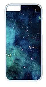 iPhone 6 Plus Cases, ACESR Plastic Hard Case Cover for Apple iPhone 6 Plus (5.5inch Screen) White Border Galaxy