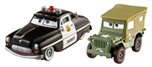Cars - Pack 2 Coches Cars - Sheriff y Sarge