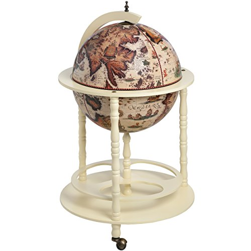 Ancient world globe map drinks cabinet bottle holder amazon ancient world globe map drinks cabinet bottle holder amazon kitchen home gumiabroncs Image collections