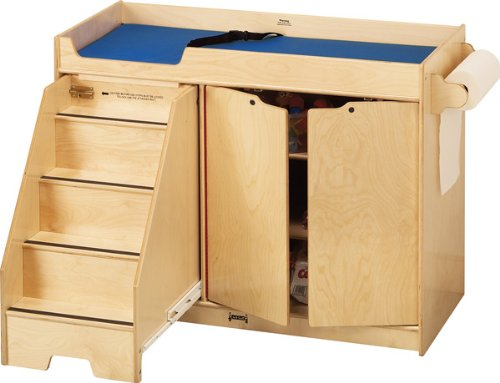 Jonti-Craft 5131JC Changing Table with Stairs, Left by Jonti-Craft