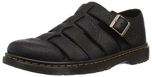 Dr. Martens Fenton Black Sandal, 7 Medium UK (8 US)]()