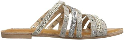 Pelle Donna In Silver Valutato Caviale Sandalo Con Da Non B1qwCRZ
